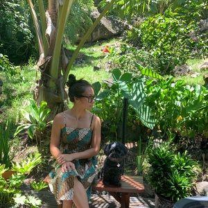 Ethnic print summer dress